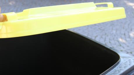 In etwa zwei Wochen werden die ersten Gelben Tonnen in Illertissen, Weißenhorn und Vöhringen ausgeliefert. Die erste Leerung ist dann im Januar.