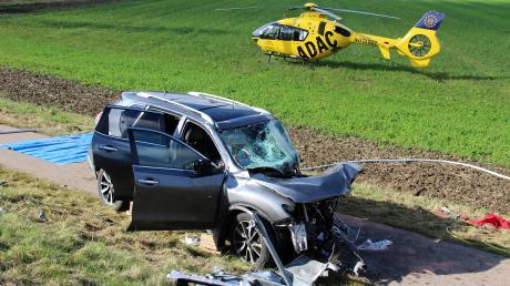 Am Samstag ist es zwischen Senden und Neu-Ulm zu einem schweren Unfall mit fünf teils schwer Verletzten gekommen.