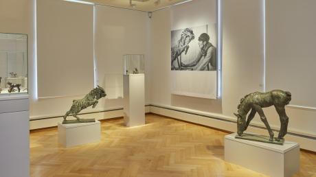 Ab Montag nur noch auf Online-Videos zu sehen: Renée-Sintenis-Ausstellung im Edwin-Scharff-Museum.
