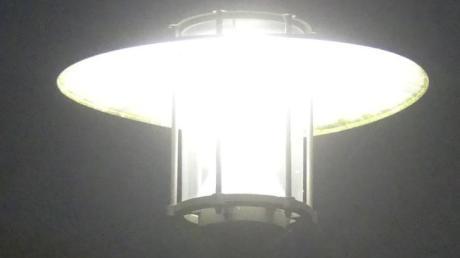 Um Straßenbeleuchtung mit LED-Technik ging es bei der Gemeinderatssitzung in Kettershausen.
