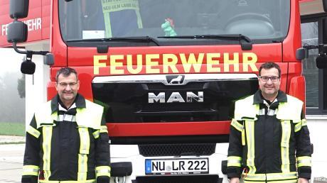 Die Thalhofer-Zwillinge Georg (links) und Bernhard gehören der Feuerwehr Illerberg-Thal an. Auch im übrigen Vereinsleben sind die Brüder recht aktiv – und seit diesem Jahr sogar gemeinsam im Stadtrat vertreten.