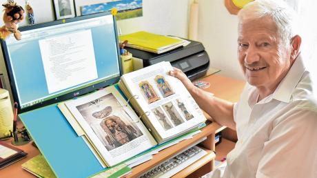 Der Booser Hobby-Heimatforscher Herbert Schlatterer hat eine rund 800 Seiten umfassende Booser Dorfchronik zusammengestellt.