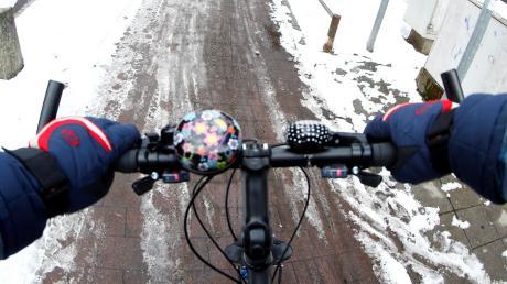 Das Wetter ist momentan nur etwas für hart gesottene Radler. Die Planungen für die Radschnellwege im Landkreis laufen aber schon jetzt.
