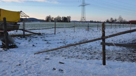 Das geplante Baugebiet West in Unterroth schließt an die Ortsgrenze südlich der Illertisser Straße an.