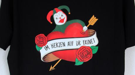 Heiß begehrt sind die T-Shirts der Ranzenburger Narrenzunft.