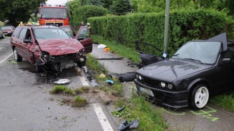 Tödlicher Verkehrsunfall am Ortseingang von Penzing