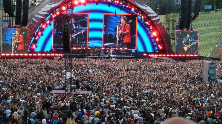 Konzert Im Olympiastadion Facebook Freunde über Bon Jovi In München