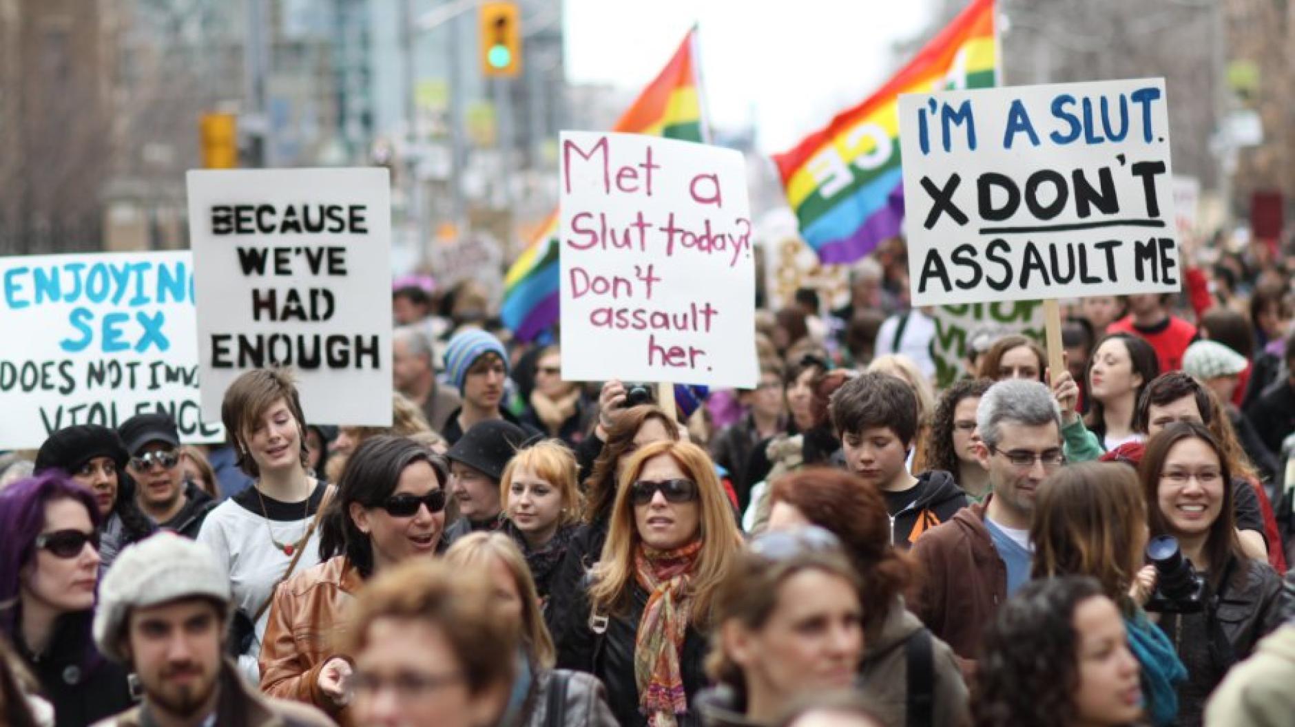 Slutwalks: Frauen starten Schlampenmarsch gegen sexuelle