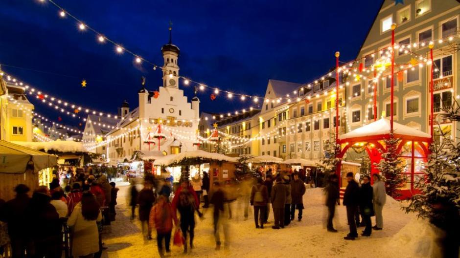 Weihnachtsmarkt übersicht.übersicht An Diesem Wochenende öffnen Viele Weihnachtsmärkte