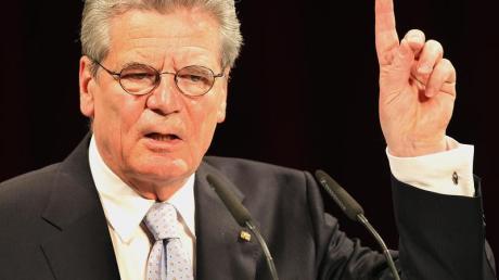 Bürger Nummer eins: Der frühere DDR-Bürgerrechtler Joachim Gauck ist Deutschlands designiertes Staatsoberhaupt. Er wird neuer Bundespräsident.