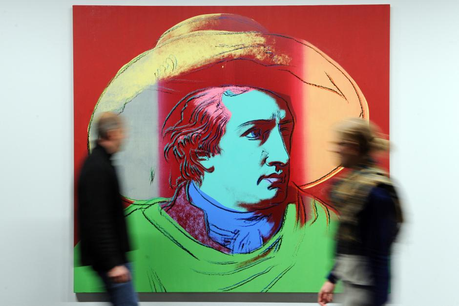 Andy Warhols Beruhmteste Werke Promis Kurioses Tv Augsburger
