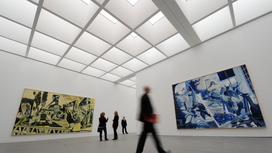 Munchen Pinakothek Der Moderne Risse Kosten 750 000 Euro Augsburger Allgemeine