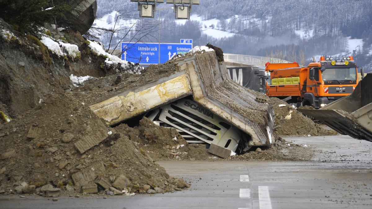 Erdrutsch Brenner