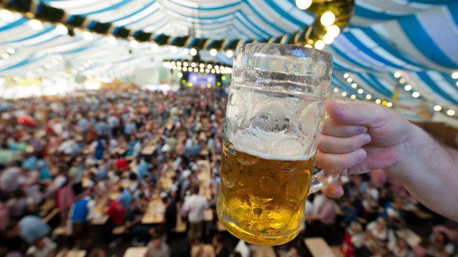 1 maß bier oktoberfest wieviel liter