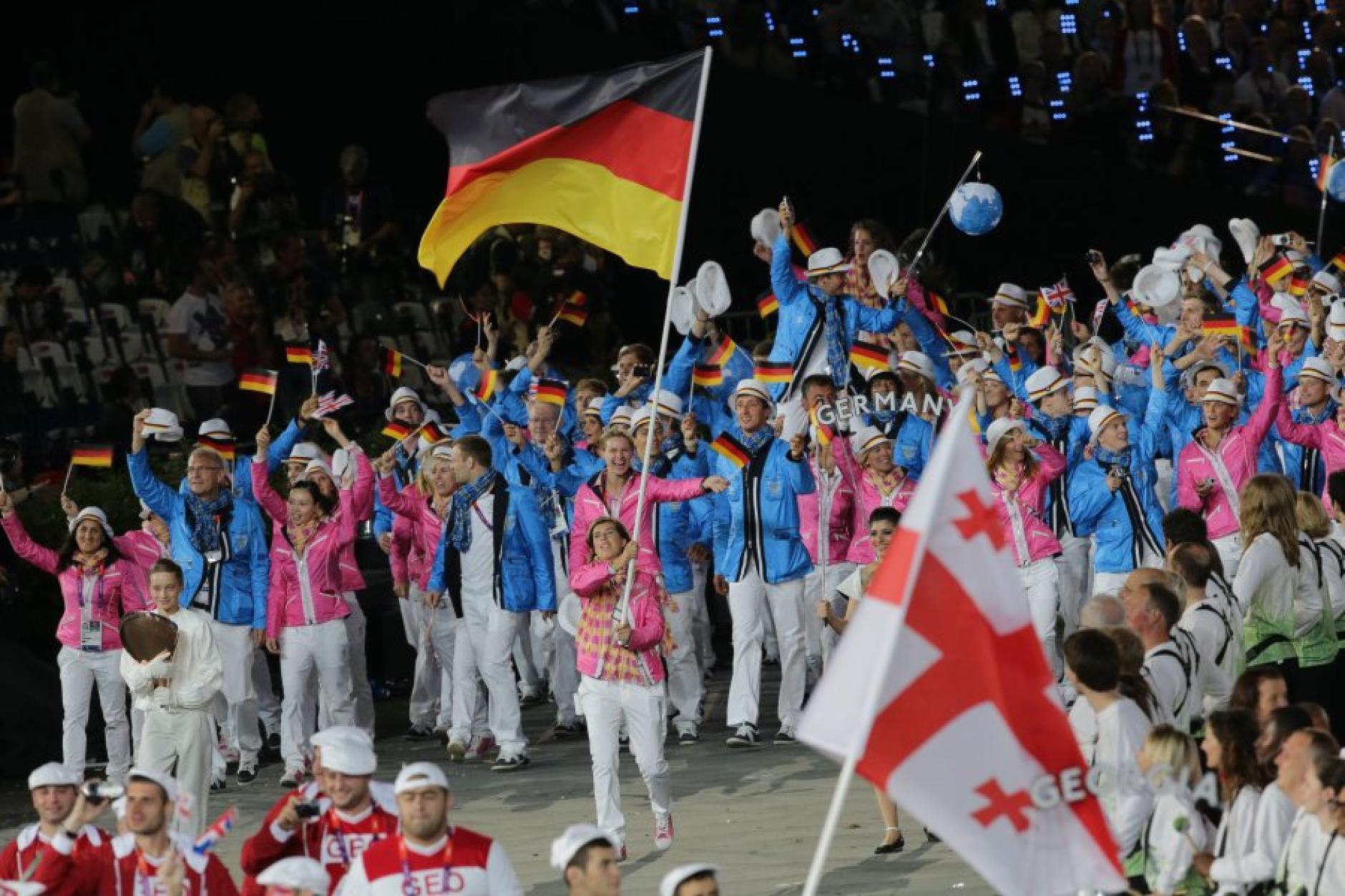 Olympia 2012: Impressionen von der Eröffnungsfeier