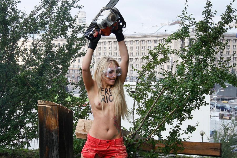 pussy riot nackt nackt