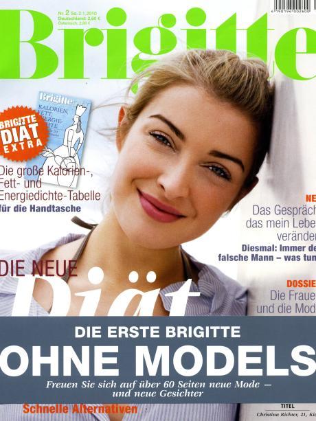 Frauen Zeitschrift Brigitte Steht Das Ohne Models Konzept Vor
