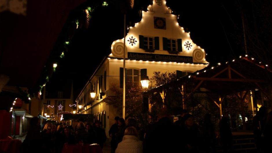 Weihnachtsmarkt Aichach.Aichach Aichacher Christkindlmarkt Weihnachtsmärkte Augsburger
