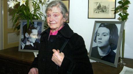 Elisabeth Hartnagel war die Letzte der Scholl-Familie, die noch lebte. Von der Hinrichtung ihrer Geschwister Hans und Sophie erfuhr sie aus der Zeitung.