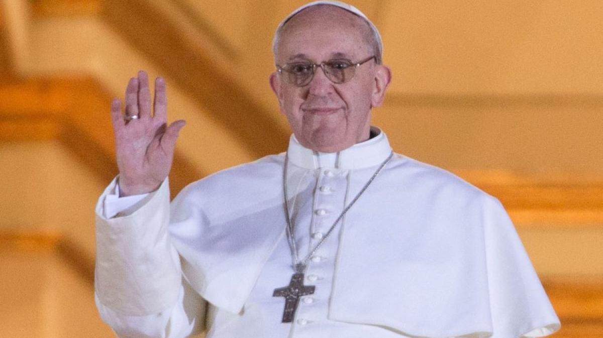 Papst Franziskus Vater Unser