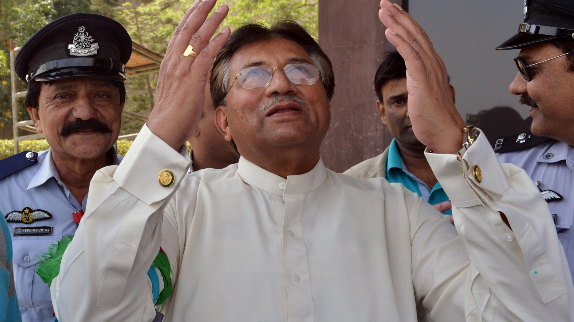 Comback des Ex-Diktators: Exil und zurück: Musharraf ist