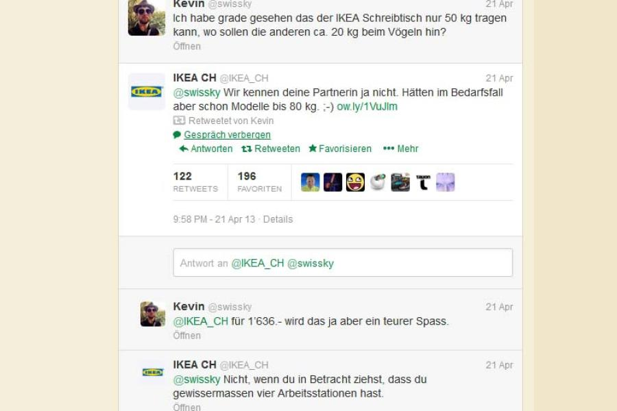 Twitter Sex Auf Dem Tisch Ikea Gibt Tipps Promis Kurioses Tv