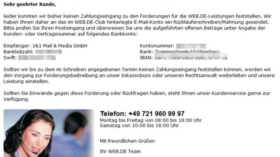 Gmx Topmail Und Webde Club Glückwunsch Abzocke Vorwürfe