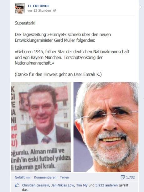 Alles Müller Oder Was Der Doppelte Gerd Müller Der Peinliche