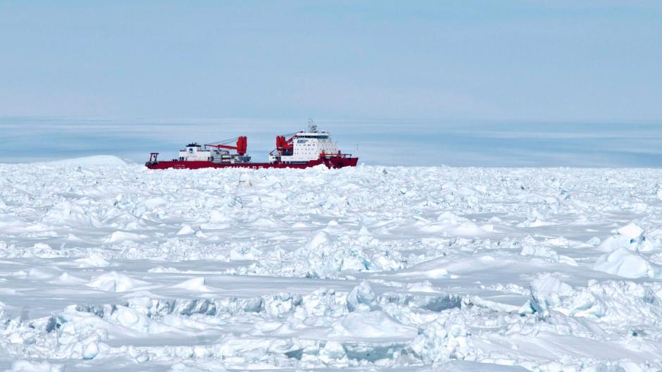 Antarktis: Rettung für die Retter: US-Eisbrecher soll Schiffe in der ...