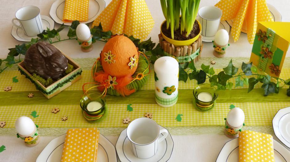 Ostern Tischdekoration Fur Ostern Basteln Freizeit Augsburg