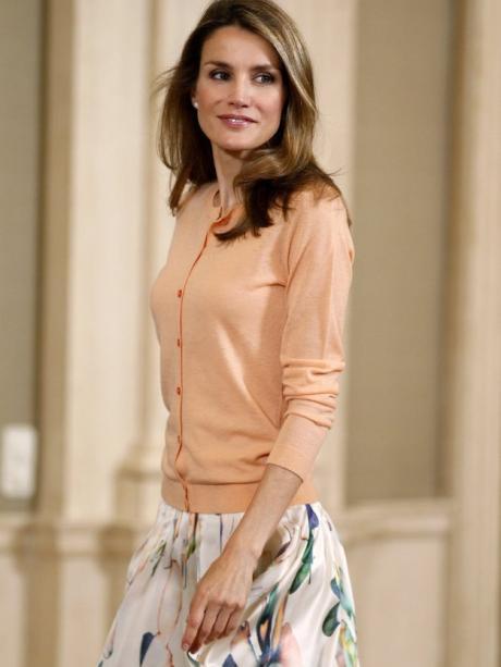 Spanien Prinzessin Letizia Bringt Frischen Wind Ins Spanische