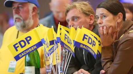 Die FDP ist mit demScheitern in Sachsen auch aus dem letzten Landesparlament geflogen. Foto: Jan Woitas