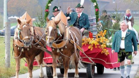 Die Leonhardiritte finden zu Ehren des Heiligen Leonhards statt. Das Brauchtum findet man in Bayern und Österreich. Archivbild