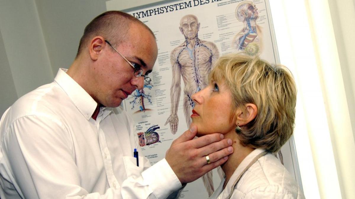 Gesundheit: Hinter geschwollenen Lymphknoten muss kein Krebs stecken ...