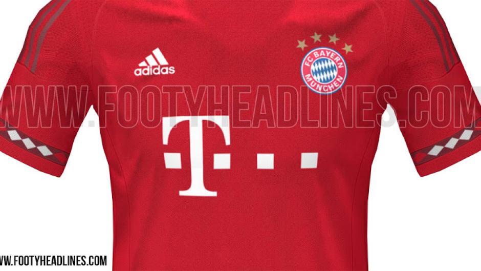Fc Bayern Neues Bayern Trikot Mit Diamantmuster Fc Bayern News