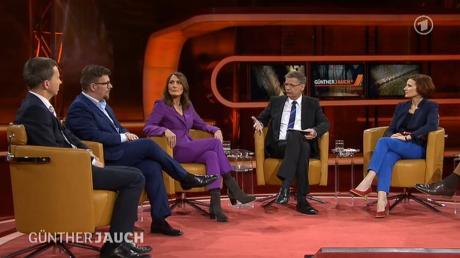 Wegen eines Stromausfalls in Berlin konnte die ARD-Sendung «Günther Jauch» zunächst nicht live auf Sendung gehen.