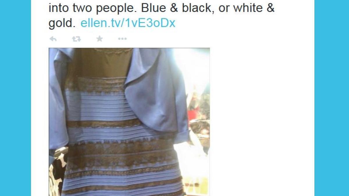 twitter: welche farbe hat dieses kleid? streit im internet
