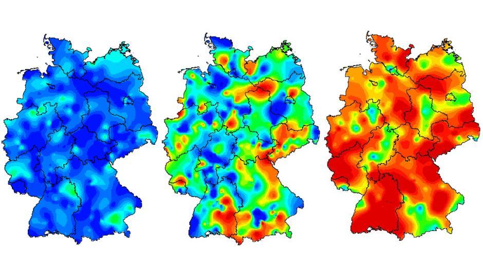 Grippe Karte.Grippe Karten Animation Zeigt So Hat Die Grippewelle Deutschland