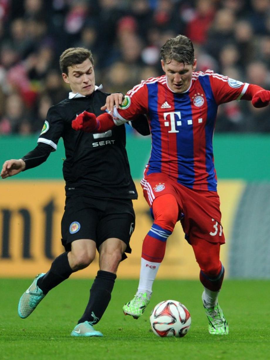 Bayern Gegen Braunschweig Pokal