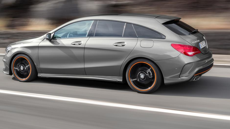 Mercedes Cla Shooting Brake Die A Klasse Mit Rucksack Auto