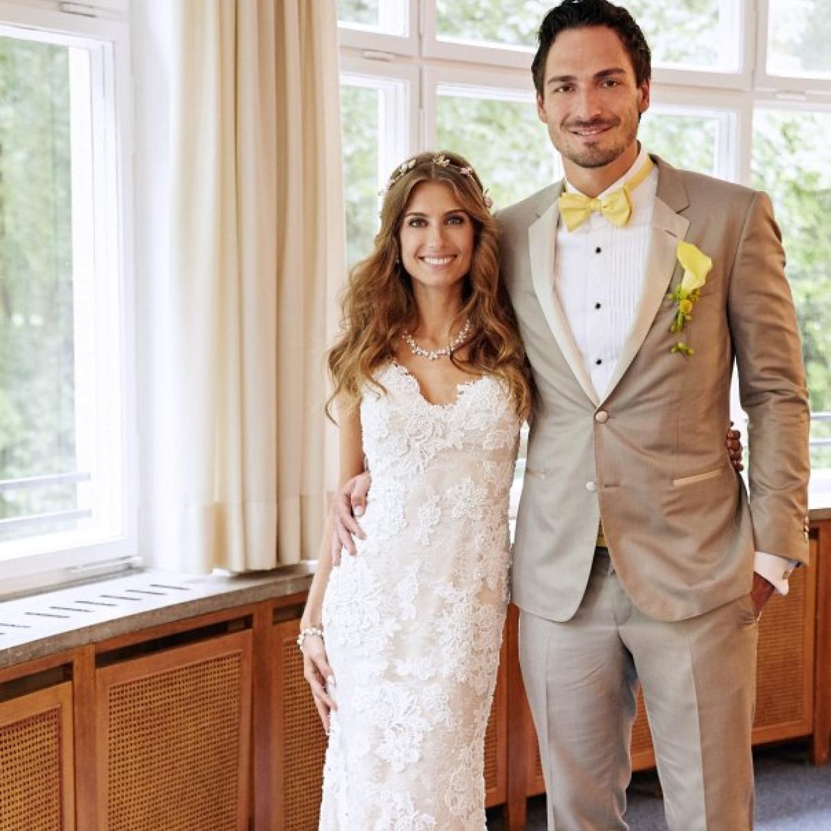 Mats Hummels & Cathy Fischer: Hummels-Hochzeit: Cathy Fischers ...