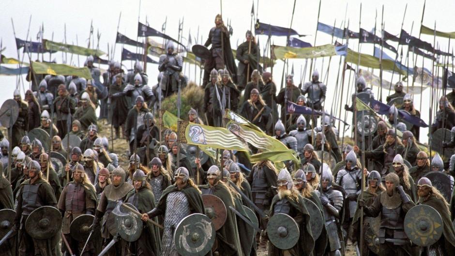Herr Der Ringe Fans Wollen Minas Tirith In England Bauen Orks