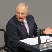 «Zweifel sind immer erlaubt», sagte Finanzminister Schäuble zur Griechenland-Hilfe. Aber es wäre unverantwortlich, die Chance nicht zu nutzen. Foto: Wolfgang Kumm