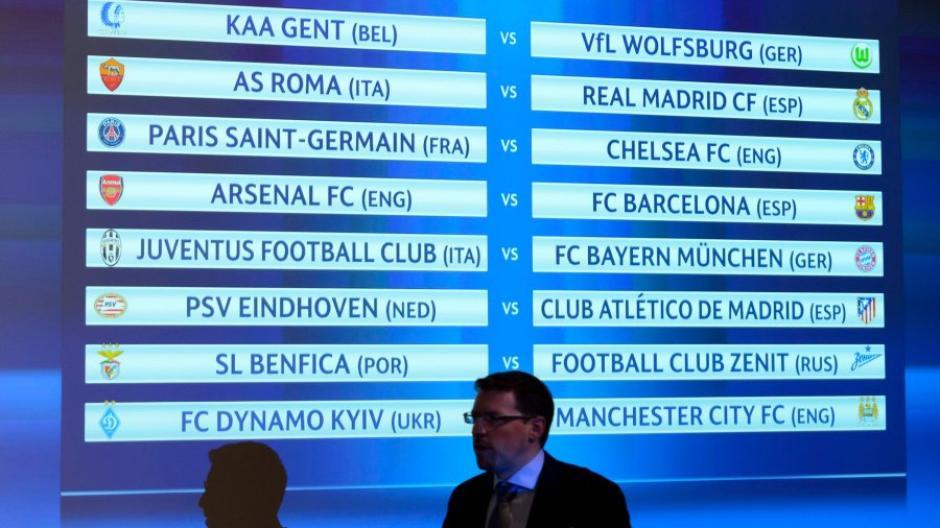 Alle Termine Champions League Achtelfinale Spielplan Mit Allen