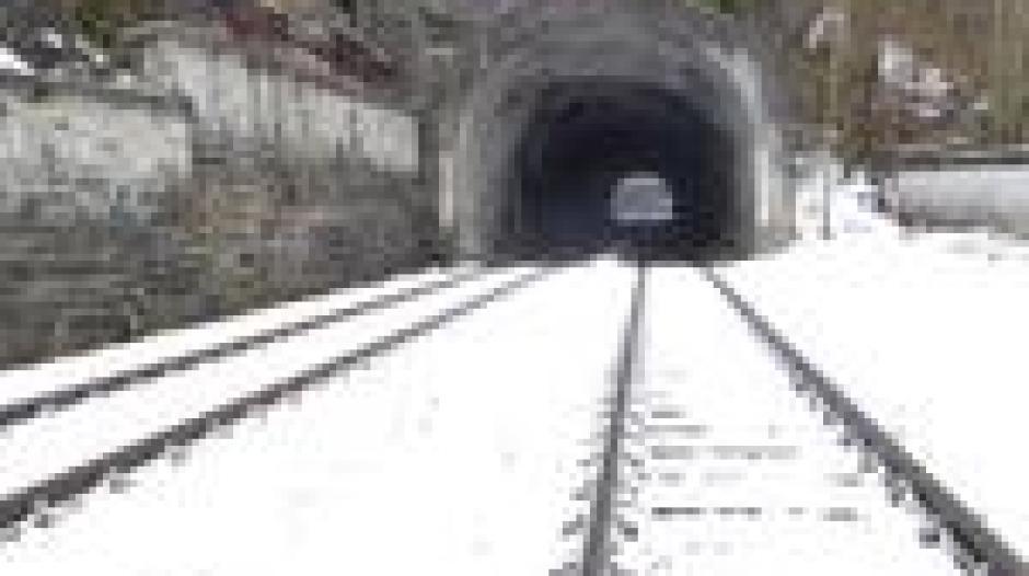 Oberallgäu Bahnstrecke Wird Wegen Tunnel Sanierung Für Ein