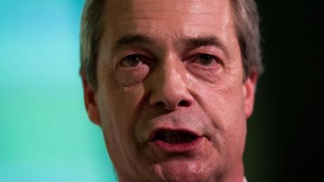 UKIP-Chef Nigel Farage kämpft erbittert um einen Austritt Großbritanniens aus der EU.