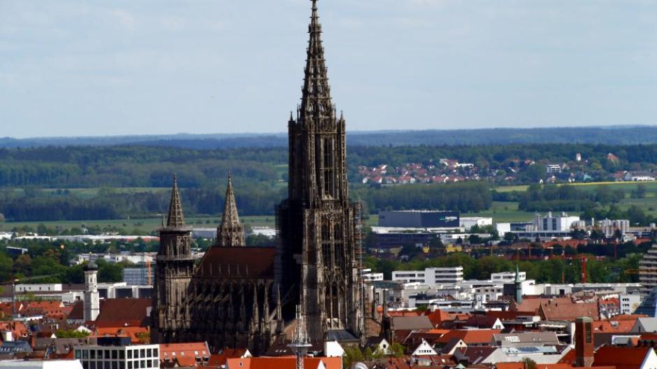 Ulm Us Popsängerin Anastacia Will Höchsten Kirchturm Der Welt