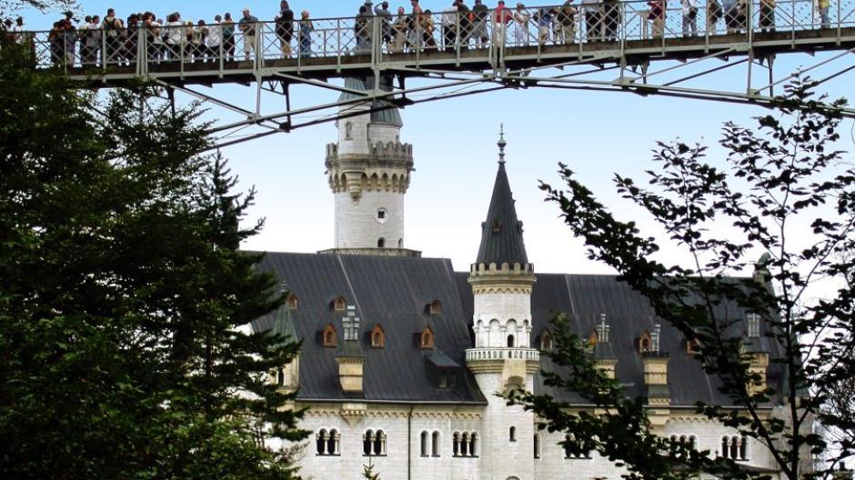 Schloss Neuschwanstein Marienbrucke Ist Wieder Offen Augsburger Allgemeine