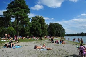 EU-Noten: Badeseen in und um Augsburg schneiden tadellos ab