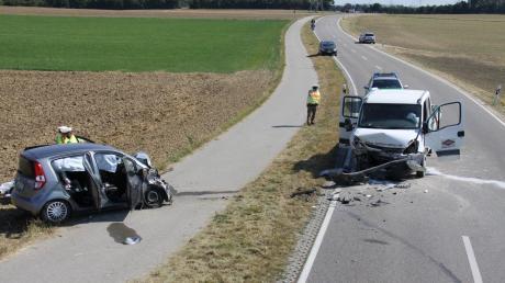 Ein 81-Jähriger ist bei einem Verkehrsunfall bei Ingolstadt gestorben.